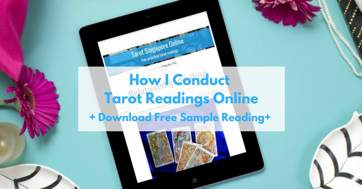 How to conduct tarot readings online