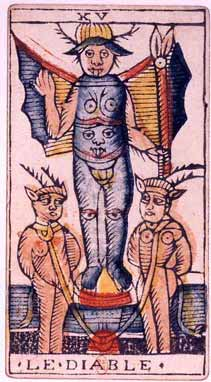 tarot marseille devil