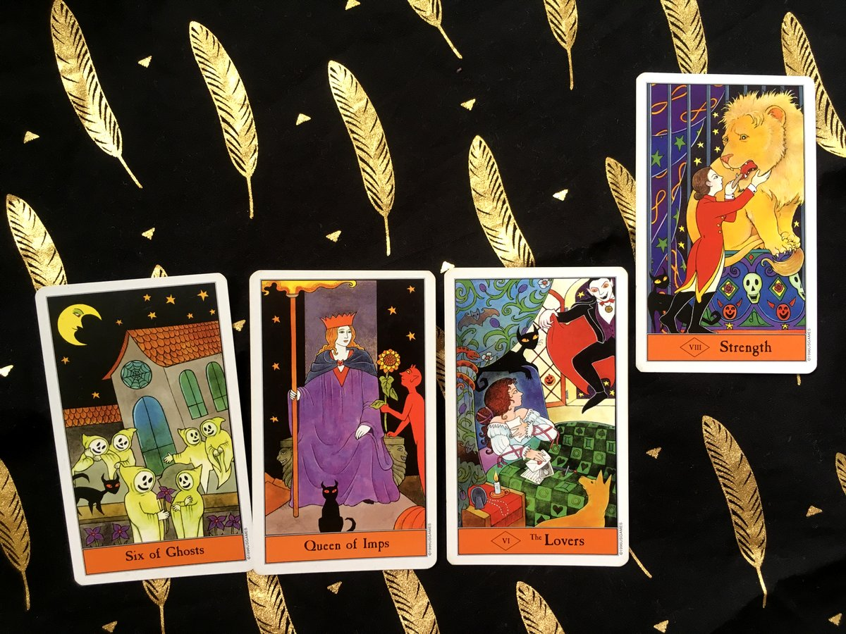 Review of Halloween Tarot by Tarot Singapore Online