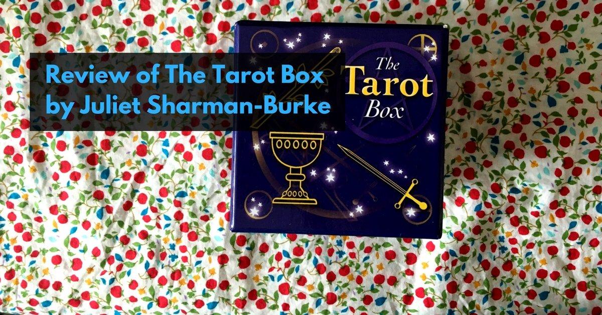 review tarot box juliet Sharmam-burke