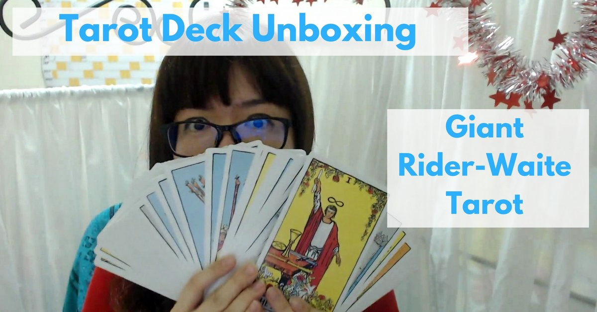 giant rider waite tarot review