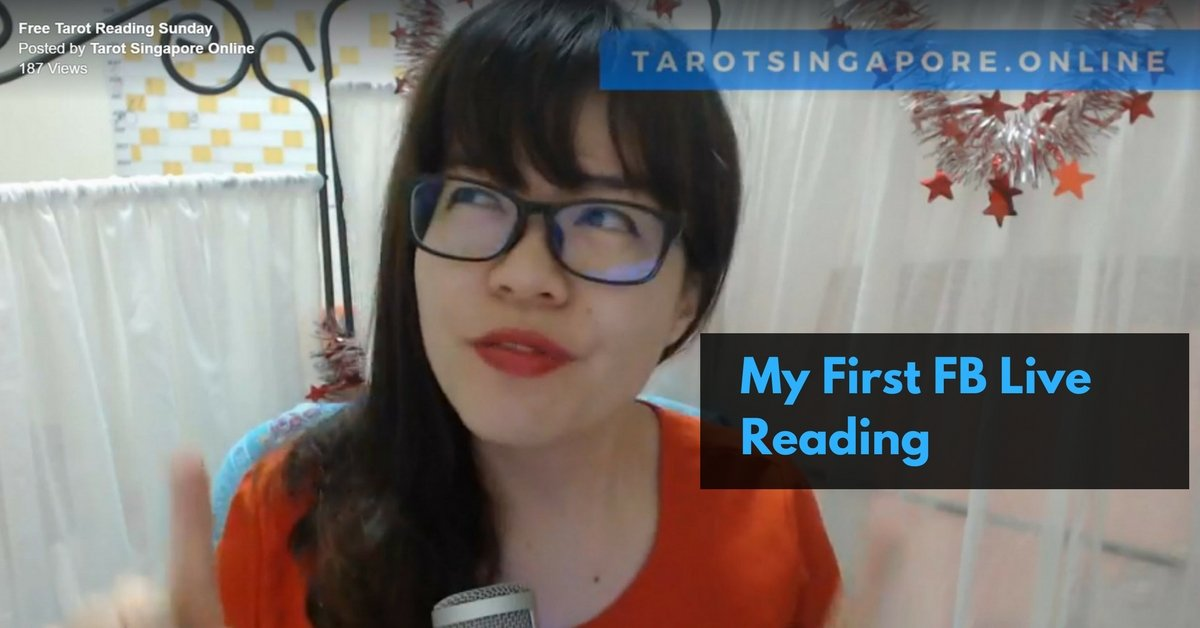 Tarot Reading on Facebook by Tarot Singapore Online