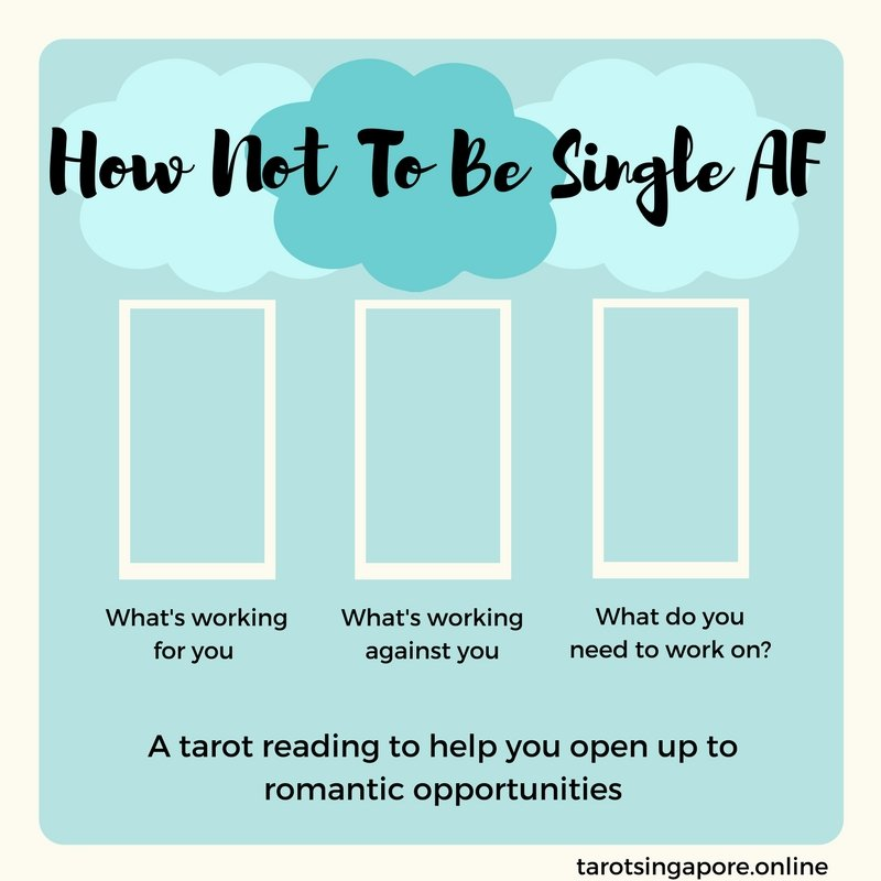 how not to be single af tarot spread