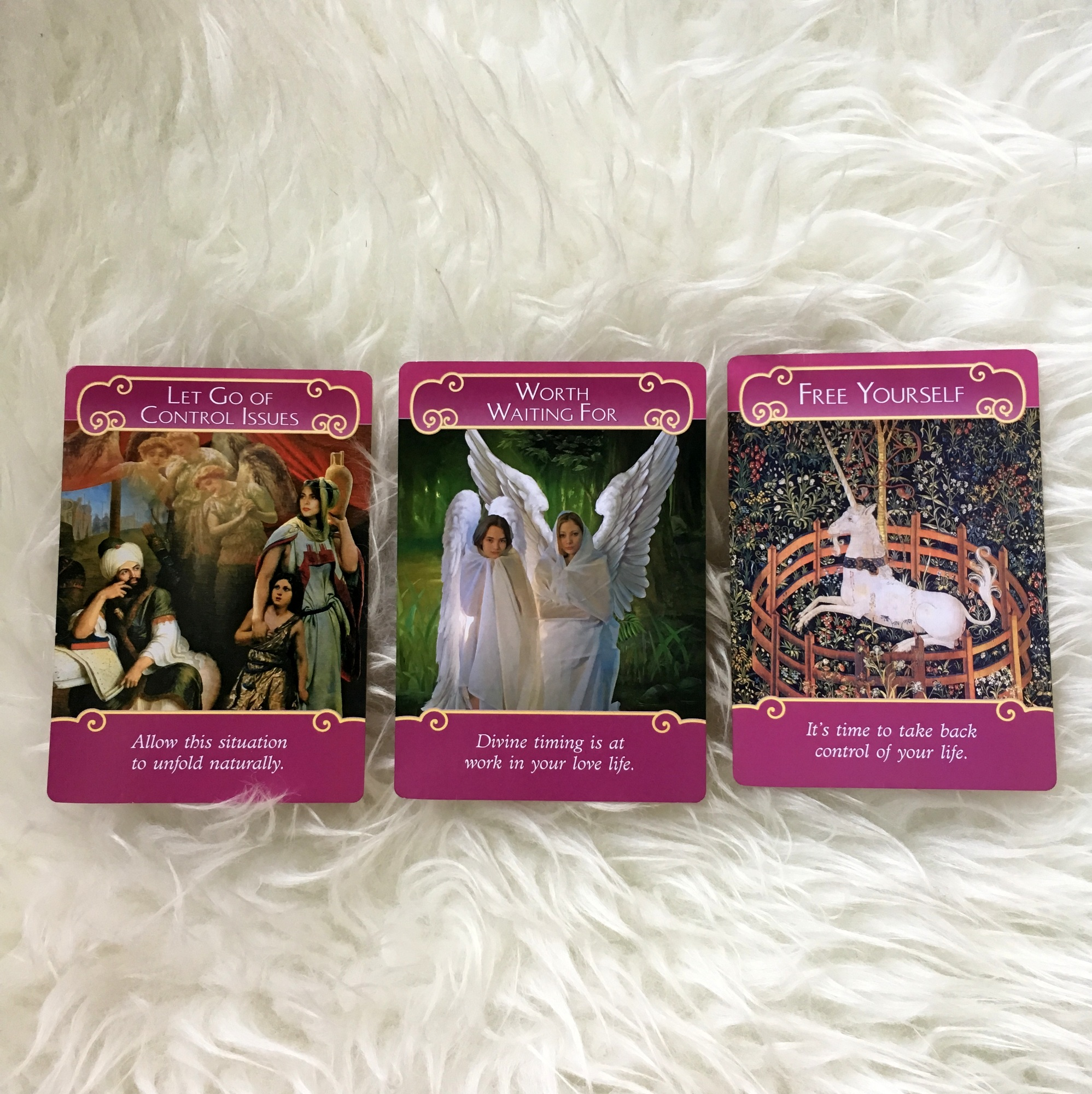 Romance Angel Oracle Cards