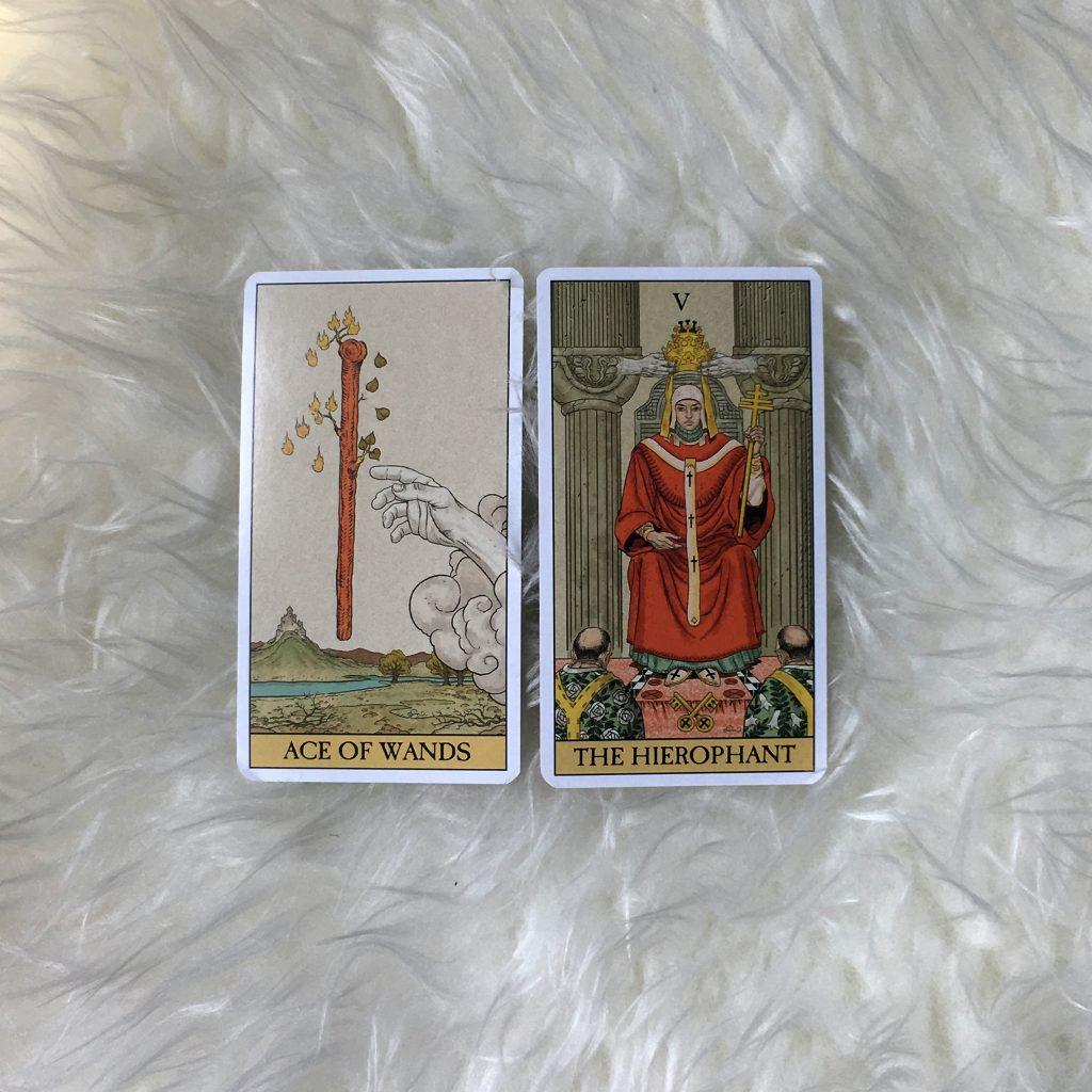 two card tarot