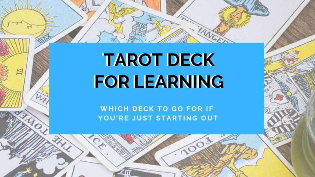 tarot deck for beginners