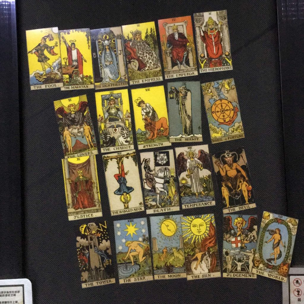 Major Arcana Tarot Deck Rider Waite Smith