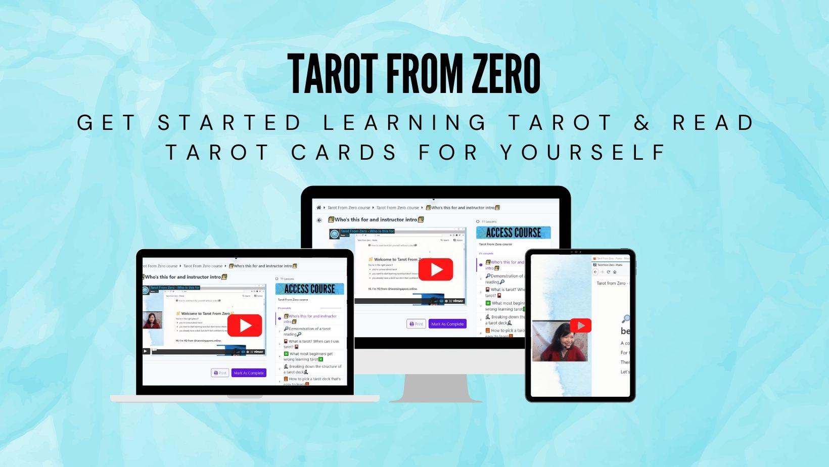 Learn tarot in singapore